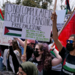 A May 15th protest in California. Photo by Gary Fields.