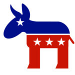 The symbol of the U.S. Democratic Party